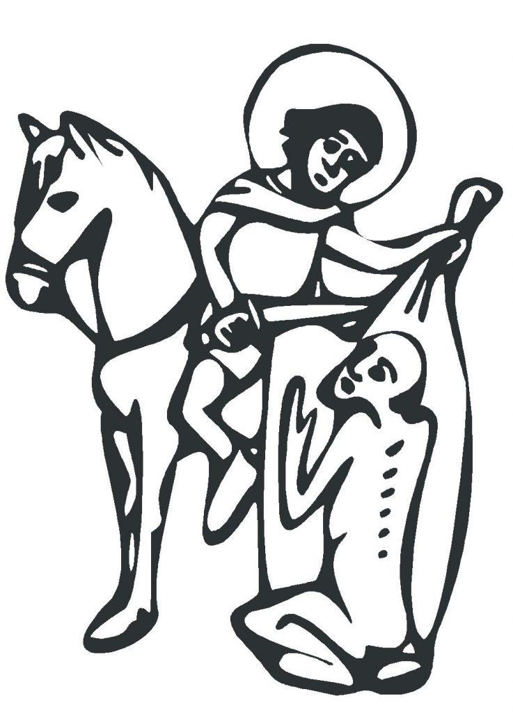 Správanie svätého Martina vystihuje myšlienku nášho projektu. Preto sa stal jeho symbolom.